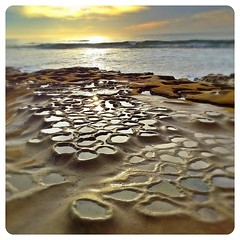 Another Planet (pixelmama) Tags: california sunset sandiego lajolla potholes hospitalbreak prohdr hospitalbeach iphoneography pixelmama iphone4s phototoaster hospitalreef