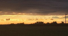 (dazmo862) Tags: night glow horizon light golden cloud sunset