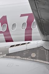 Airbus A319-133(LR) (A380spotter) Tags: pylon engine powerplant wing airbus a319 100lr 100 a7cja  alhilal qatar  qatarairways qtr qr  qatarexecutive qqe qe staticdisplay fia16 sbacfarnboroughinternationalairshow2016 taglondonfarnboroughairport eglf fab