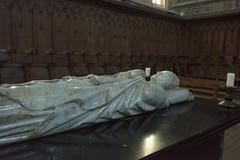 The Pope's Tomb (MrBlackSun) Tags: france abbey nikon auvergne clement abbaye abbatiale hauteloire d810 saintrobert chaisedieu nikond810 clementvi