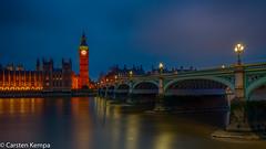 Westminster Bridge / Big Ben (ck1berlin) Tags: night bigben london westminster westminsterbridge