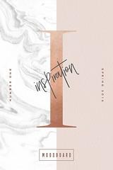 Inspiration Moodboard: Spring 2016 (inspiration_de) Tags: design inspiration lettering moodboard spring type typography