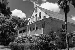 Bailey House - BW (rschnaible) Tags: maui hawaii us usa pacific tropic tropical history historic building architecture bailey house circa 1883 old hisotrical sightseeing tour tourist bw black white photography monotone