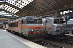 SNCF 22333 & 22240 (Will Swain) Tags: paris gare du nord 18th july 2016 train trains rail railway railways transport travel vehicle vehicles europe france french voyage capital city centre parisien ile de ledefrance le sncf 22333 22240