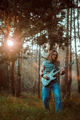 IMG_4949 (rodinaat) Tags: longhair longhairman longhairedman longhaired beard bearded metal metalhead powermetal trashmetal guitar musican guitarplayer brutal forest summer sun