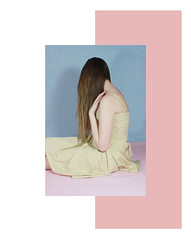 Pastel yellow 2 (MitikaFe) Tags: pastelyellow pink cute pastel girl brunette white skin longhair fashion photography