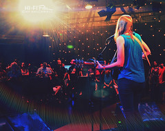 The Simple Fear (Hi-Fi Fotos) Tags: brookeannibale singer concert wqed sessions live music stage guitar song acoustic audience flare nikon d5000 hififotos hallewell