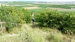 Biker-Abfahrt am Petersberg