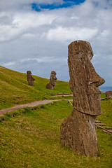 rapa nui 213 16 12  675 (moments caught in flight) Tags: rapanui easterisland moai ranoraraku quarry