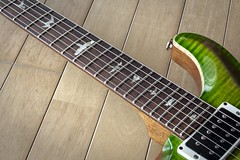 PRS CU24 Awesome fretjob (fincvs) Tags: prs paul reed smith custom 24 flame maple rosewood mahogany lefty eriza verde