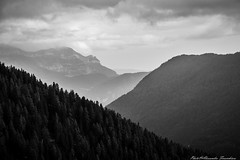 the mountain dissolves between its silence and I listen to my soul (alessandrafinocchiaro67) Tags: monochrome black white nikond750 fx mountain fields sky clouds open quite silence beauty nikonflickraward