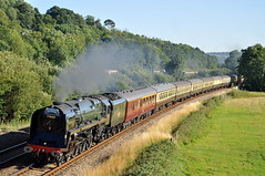 20100725 71000 (paulbrankin775) Tags: torbay express dukeofgloucester duke gloucester 71000 steam train loco locomotive smoke