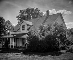 Campbell House 7 (chrism229) Tags: chamonix4x5 schneiderkreuznach 127mmf47 fp4 diafine hasselbladx1 largeformat film blackandwhite monochrome