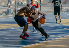 theslip (Dokosatchii) Tags: basketball oneonone streetball west4th