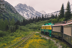 Railway to the North (Enzymatic RXN) Tags: alaska yukon railway white pass gold skagway train rail travel vacation landscape enzymatic rxn fujix fujifilm