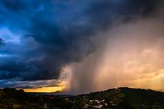 The flood (michele.mastrosimone89) Tags: thunderstorm temporale maltempo meteo sky cielo tramonto sunset paduli benevento sannio campania summer estate 2016 flood pioggia rain clouds nuvole canon 600d 1855 manfrotto