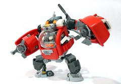 Duplon Marauder 03 (chubbybots) Tags: lego duplo mech