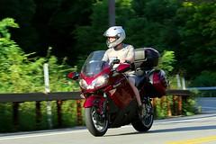 Kawasaki 1608203558w (gparet) Tags: bearmountain bridge road scenic overlook motorcycle motorcycles goattrail goatpath windingroad curves twisties outdoor vehicle