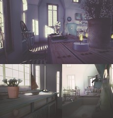 Noya's Cottage (Blog | Beautiful Mistake) Tags: sl secondlife home house rent kitchen decor cottage noya noyas