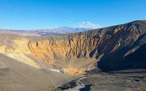 Descending path to Ubehebe crater
