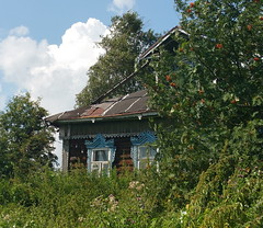 An Old House ... Cottage Russia Wooden House Village     at    (Almena14) Tags: oldhouse cottage russia woodenhouse village