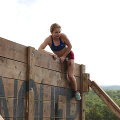 Walls of Fury Obstacle (OakleyOriginals) Tags: conquerthegauntlet race obstacles torpedo wallsoffury stairwaytoheaven cliffhanger tulsa ok august 2016 challenge strength fitness competitive medals