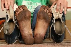 dirty feet - indoor 578 (dirtyfeet6811) Tags: feet soles barefoot dirtyfeet dirtysoles dirtychucks