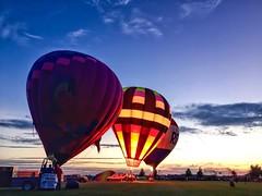 Labor Day Weekend (BoyPhoto) Tags: milkywaypark lastsummerdays harvardil balloonfest vehicle outdoor aircraft balloon illinois