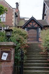 Up the steps (mrpb27) Tags: gwuk guesswhereuk owensmansion jkmorris bellstone hall artsandcrafts shrewsbury shropshire england uk gb nikon d5200 18200mmf3556gedifafsvrdx mrpb27
