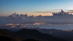 Lever de Soleil sur la rgion Pontoise - Soufrire - [Guadeloupe] (Thierry CHARDES) Tags: leverdesoleil sigma1750mmf28 baiemahault pointepitre sunrise france antilles carabes caribbean guadeloupe volcan soufrire basseterre iles