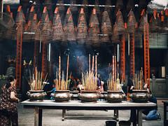 The Spirit of Asia (desomnis) Tags: asia southeastasia temple pagoda vietnam southvietnam hochiminhcity hcmc traveling travel travelphotography spiritual religion buddishm buddhisttemple josssticks incensestick canon6d sigma35mm sigma35mmf14dghsmart desomnis spirit
