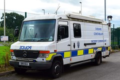 S119 SCA (S11 AUN) Tags: cheshire police mercedesbenz merc vario 612d van incident command unit support vehicle panda car response irv patrol 999 emergency s119sca