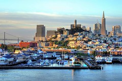 San Francisco Waterfront - 2016 (Sweezey Pictures) Tags: sanfrancisco sanfranciscobay pier39 coittower