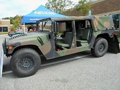1991 AM General HMMWV (splattergraphics) Tags: 1991 amgeneral hmmwv humvee 4x4 truck military carshow baltimorecountypoliceexplorers baltimoremd