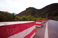 (d.o.photo) Tags: light mountain point graffiti photo do photographer view dom harris laos