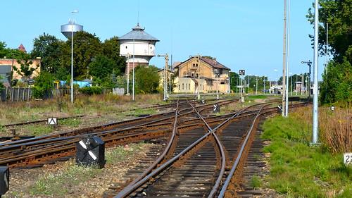 Railway station, Miedzyrzecz (Poland)