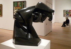 Duchamp-Villon, Horse, profile view