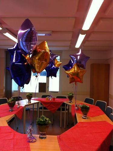 Diverse Tafeldecoratie 3 Folieballonnen Akkerhof Spijkenisse