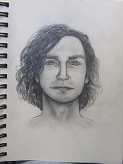Him (Digital Owl) Tags: portrait pencil graphite sketch sketchbook gotye hypnotic mge digiowl digitalowl