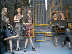 Saks: Framed, 5 (Viridia) Tags: nyc newyorkcity urban newyork mannequin fashion reflections frames mannequins dress manhattan nightshoot dresses fifthavenue saksfifthavenue saks chanel storewindows newyorkny oscardelarenta summerfall etro windowdisplays newyorkcityny 5thavenuenyc sakscompany midtownnyc giambattistavalli donnakarannewyork saksfifthavenuewindows rootsteinmannequins saksfifthavenuewindowdisplay saksfifthavenueflagshipstore saksfifthavenuewindowdisplays