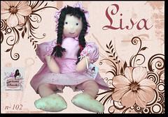 Lisa - 102 - (Luciana Dollsmaker) Tags: doll arte bambini rag serie ragdoll bambole gioco giocattoli hobbie stoffe artigianato cucito infanzia bamboledipezza bamboline hobbistica lavorifattiamano lucianadollsmaker