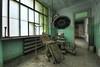 Abandoned Asylum - Italy (Romany WG) Tags: italy abandoned skeleton peeling paint decay surgery equipment bones derelict urbex