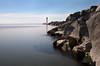 Port Hope Lighthouse (J. Peever) Tags: bw lighthouse nd bwnd