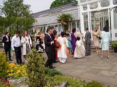 Birmingham Botanical Gardens 10 May 2008 067 (DizDiz) Tags: uk england gardens groom bride birmingham bridesmaids weddingparty bestman slabs finery hothouses olympusc720uz 0uz