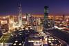 Kuwait - Skyline Of Kuwait City In Blue Hour (Sarah Al-Sayegh Photography | www.salsayegh.com) Tags: building cityscape thecity bluesky bluehour kuwait kuwaitcity cityskyline stateofkuwait top20flickrskylines kuwaitskyline nikond700 thebestofday wwwsalsayeghcom sarahhalsayeghphotography