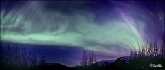 Norurljs yfir Skarsheiinni - Northern Lights (SigHolm - Very Busy) Tags: island iceland islandia aurora april sland northernlights auroraborealis 2012 islande photostitch icelandic islanda skarsheii hottube ijsland landslagsmyndir norurljs islanti  icelandiclandscape    slenskt heiturpottur slensktlandslag stunningskies   samsett