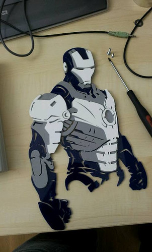 Iron Man Lasercut
