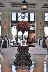 Madinat Jumeirah (juliette-chan) Tags: breakfast dubai uae luxury unitedarabemirates jumeirah madinatjumeirah minaasalam lobbylounge luxurioushotel