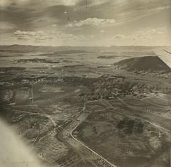 City Hill, Canberra c1940s (ArchivesACT) Tags: aerial canberra acton cityhill archivesact