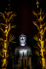 Day 241: Temple Visit (SodanieChea) Tags: lighting light art composition cambodian khmer buddha culture 50mmf18 photogarphy theravadabuddhism canon5dmarkii
